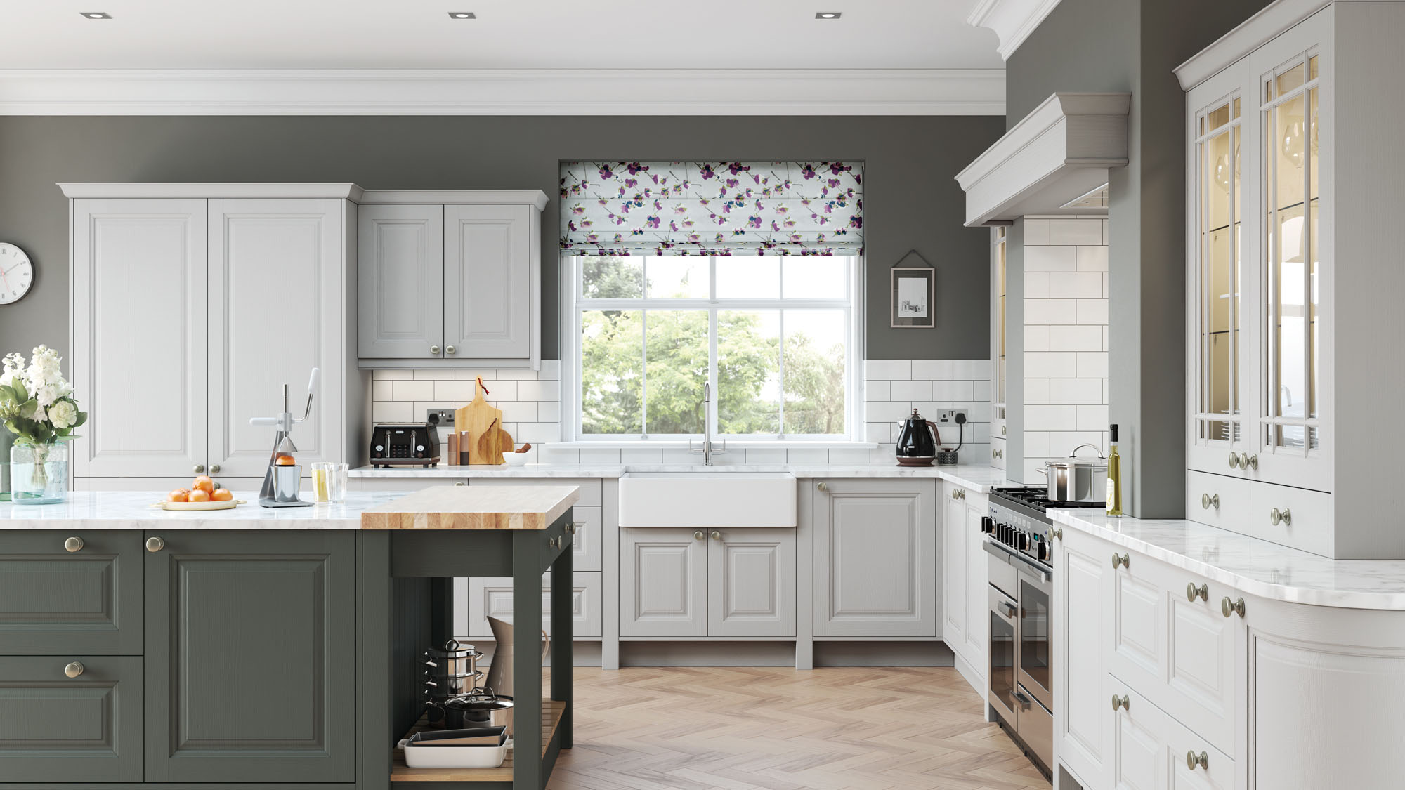 Amberley Gun Metal Grey Kitchen
