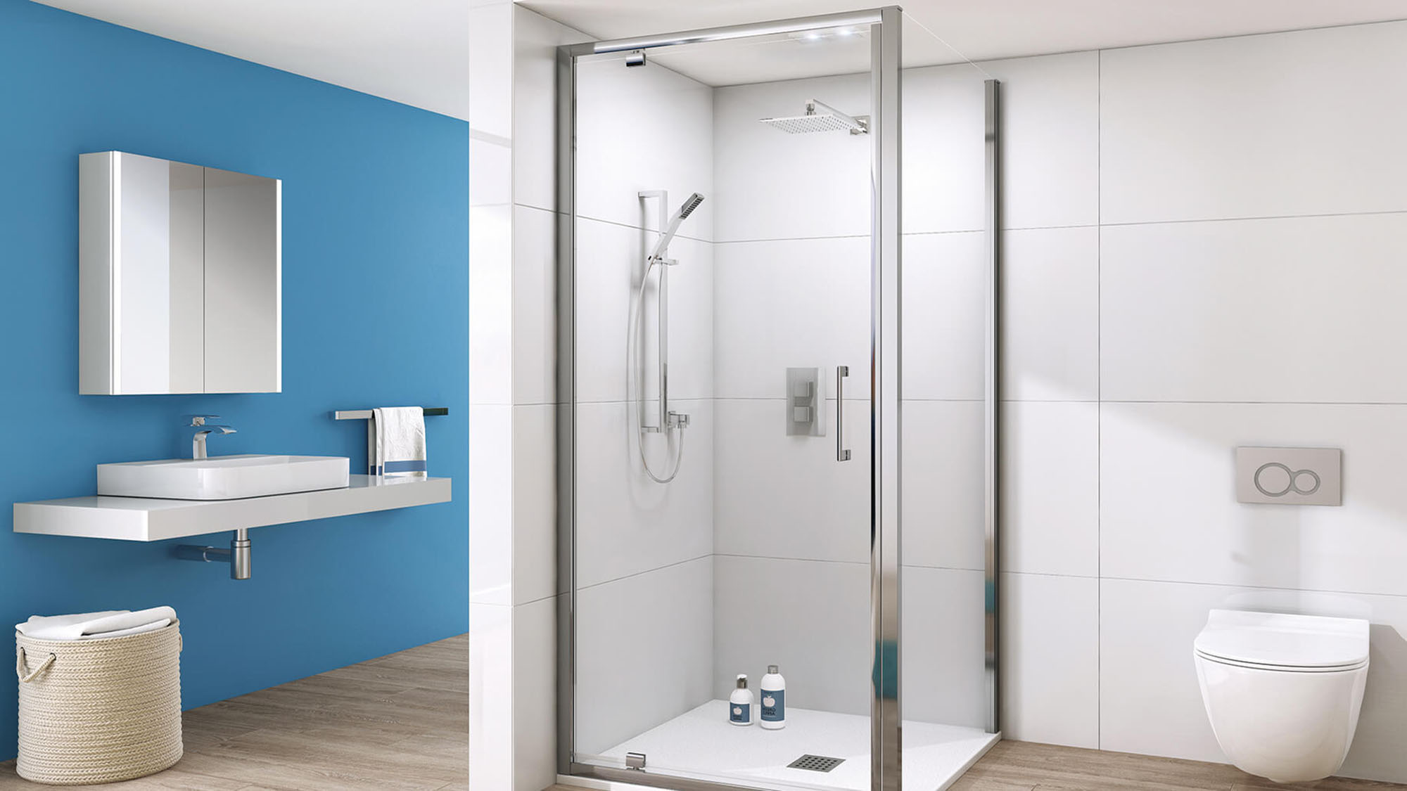Klas Pivot Door Shower
